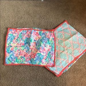 Lilly Pulitzer (for Potterybarn) Quilt & Shams